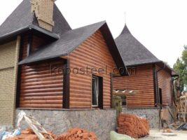 Металевий сайдинг блок хаус в Луцьку.